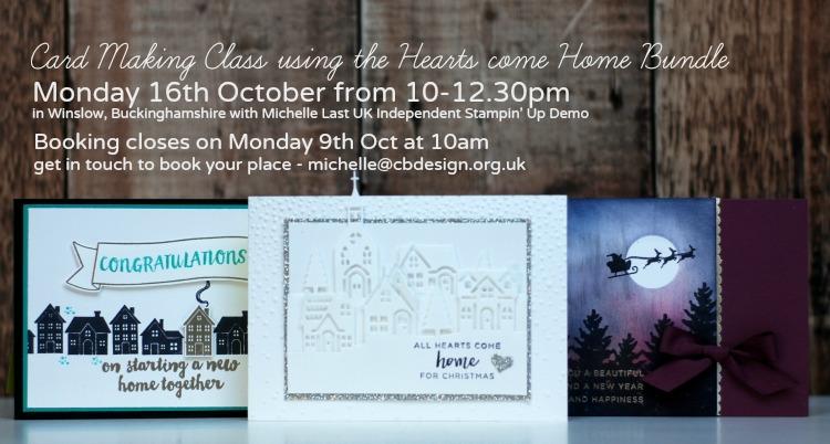 Hearts Come Home Bundle - October technique class 2017
