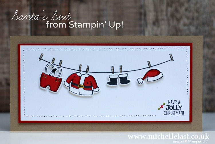 Santa's Suit from Stampin' Up!