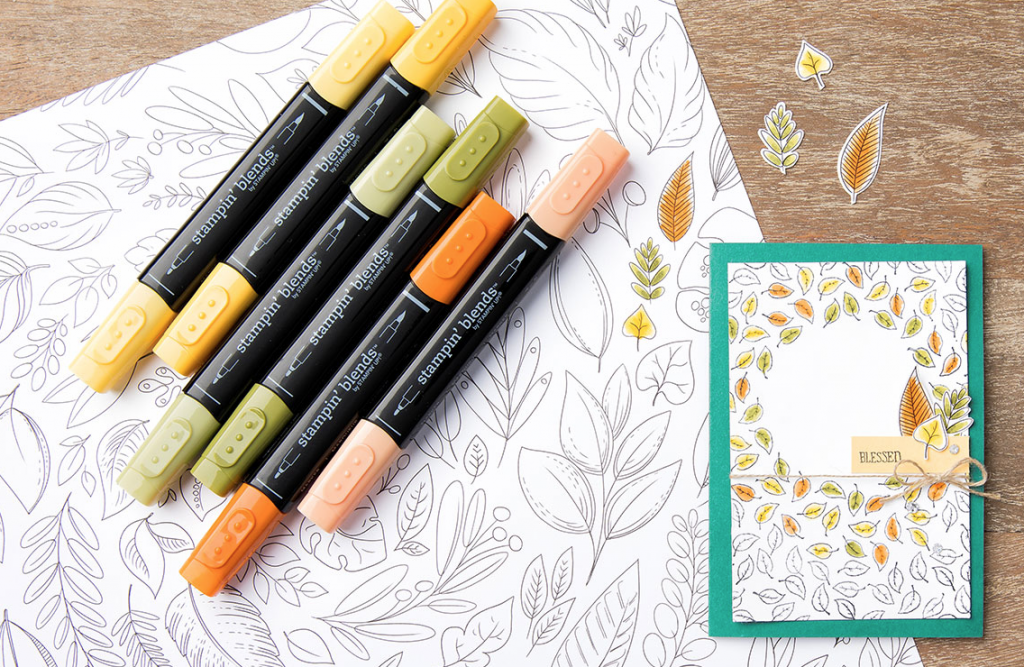 Stampin Blends Alcohol Markers from Stampin Up