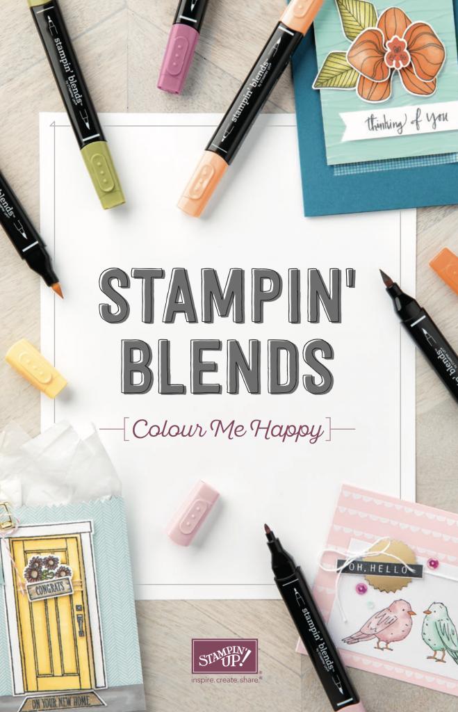 Stampin' Blends Brochure and Information