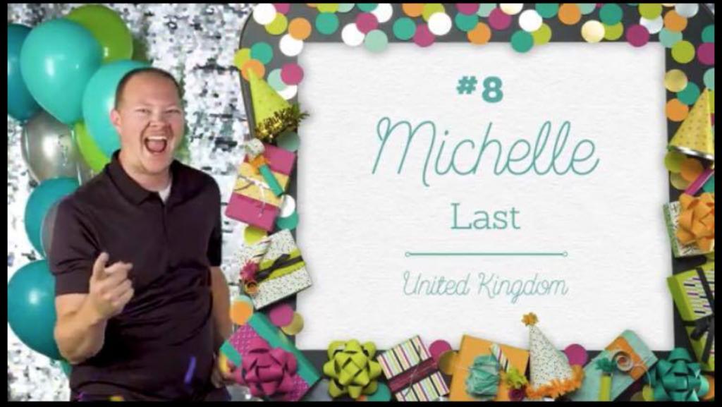 Michelle Last Global 100 2017