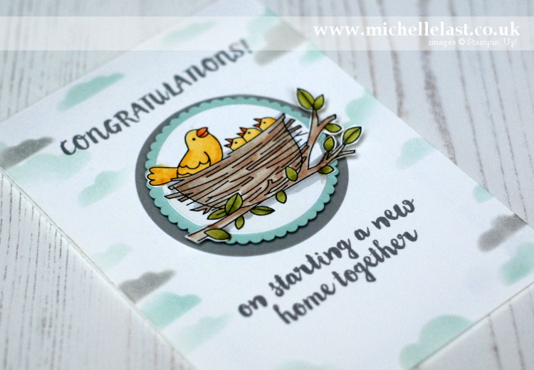 Flying Home from Stampin Up made by Michelle