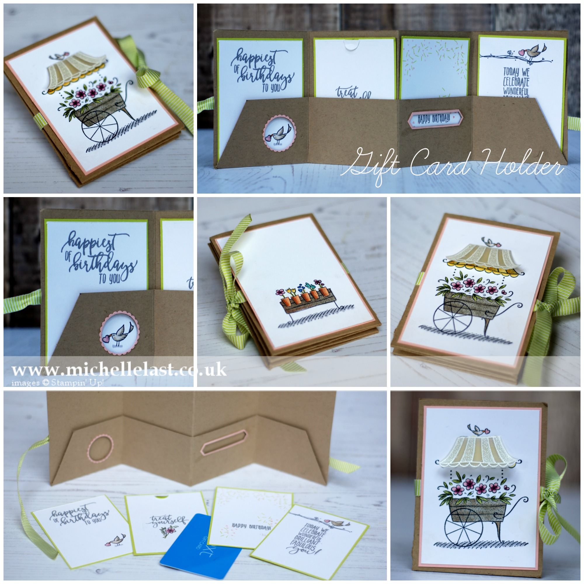 Gift Card Holder by Michelle Last