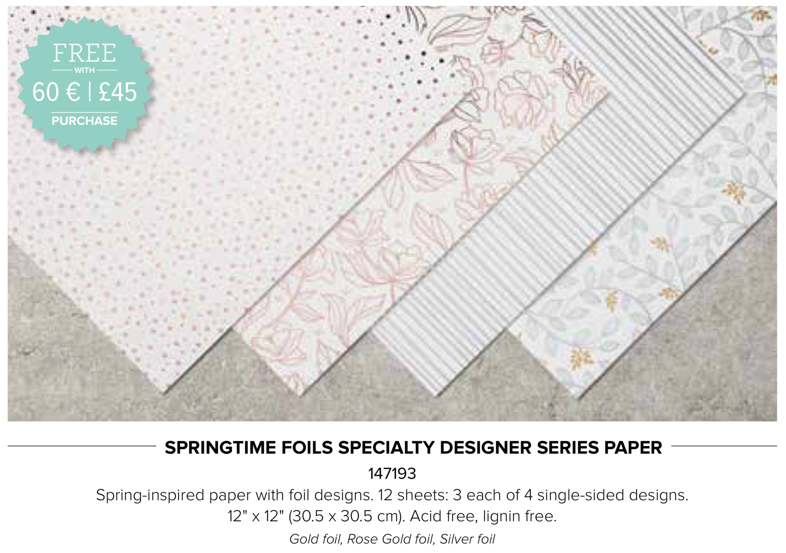 Springtime Foils Speciality DSP