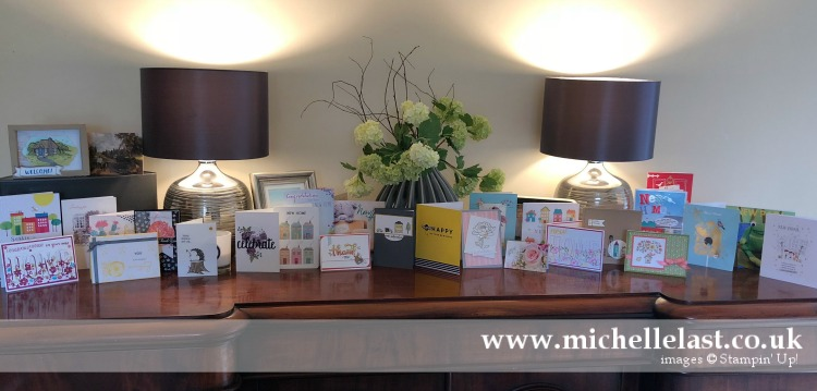 New Home Handmade Cards using Stampin Up