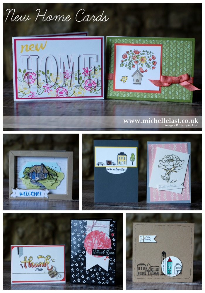 Handmade Cards using Stampin Up Supplies