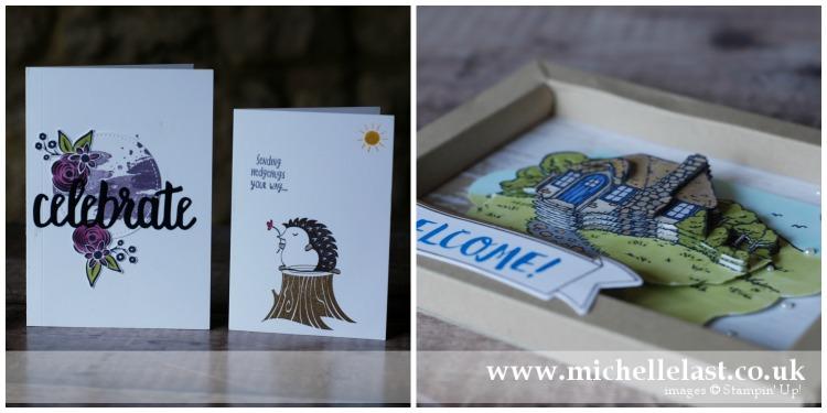 New Home Handmade Cards