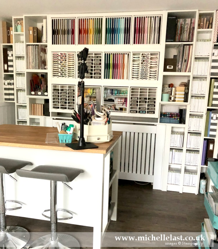 Craft Room Tour with Michelle Last