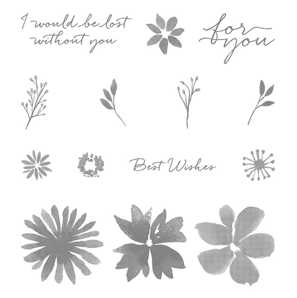 Blooms & Wishes from Stampin' Up!