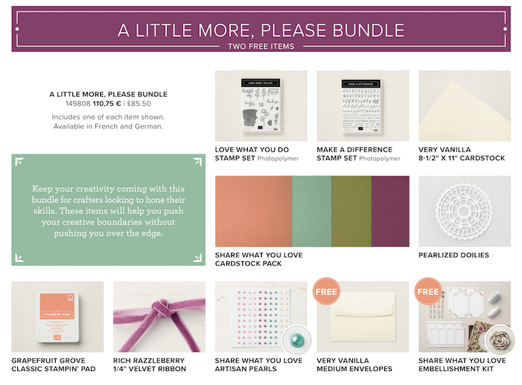 A Little More, Please Bundle Share What You Love Suite