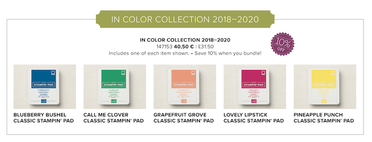 In Colour Collection 2018-2020