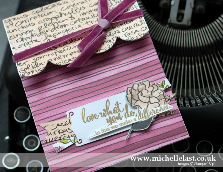 Love What You Do Suite from Stampin' Up!