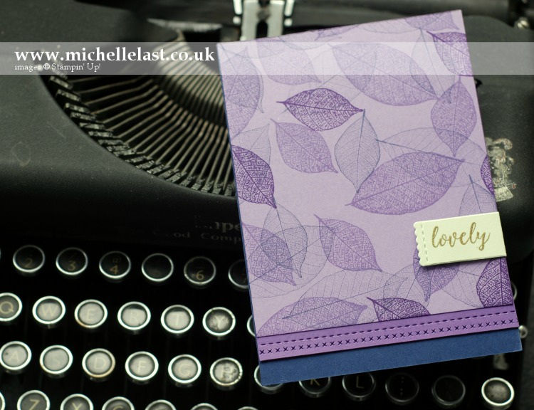 Rooted In Nature from Stampin' Up!