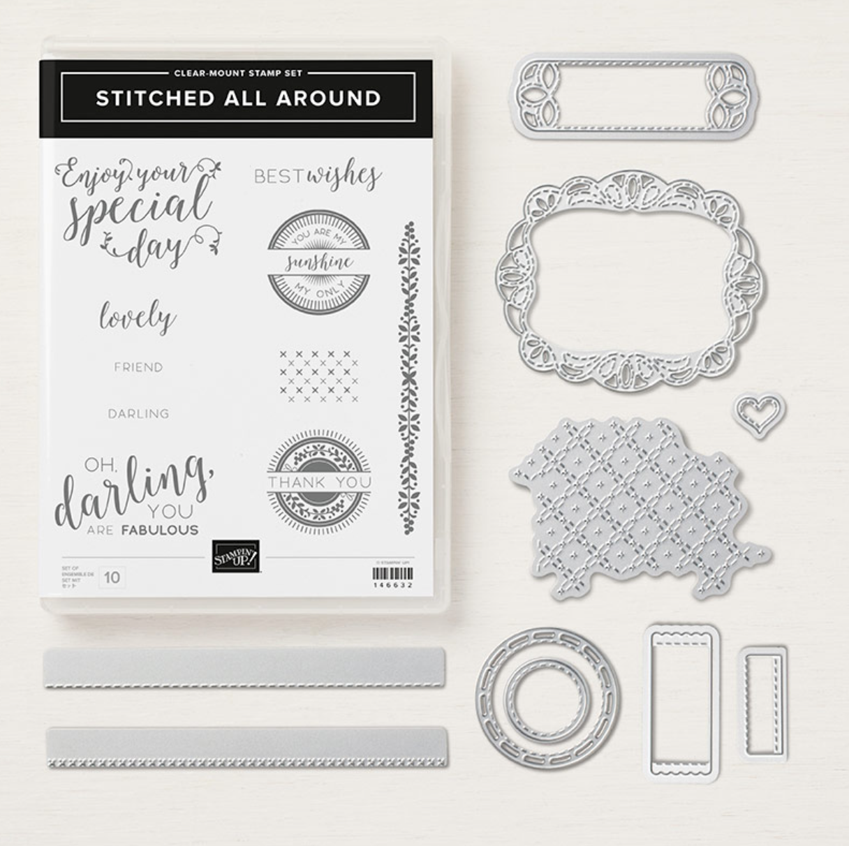 Stitched All Around Bundle from Stampin Up