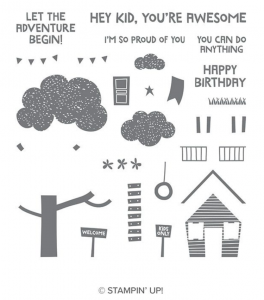 Treehouse Adventure from Stampin' up!