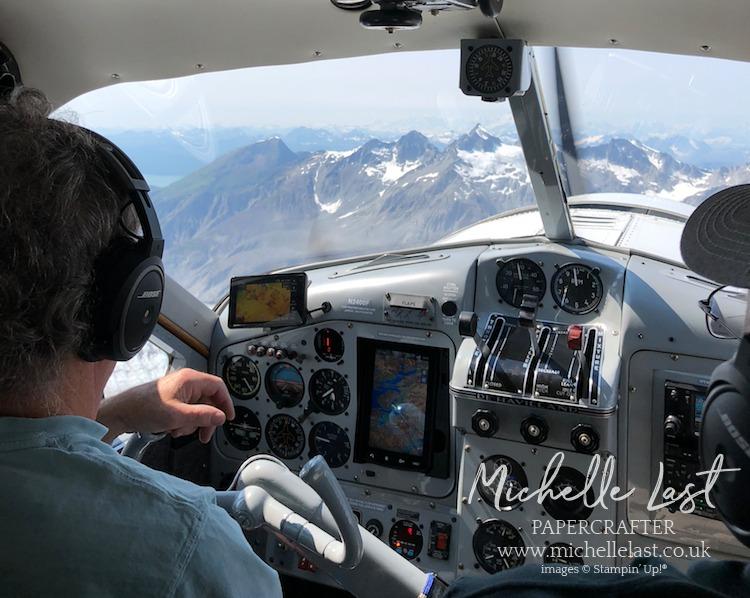 Plane tour of Alaskan Glacier