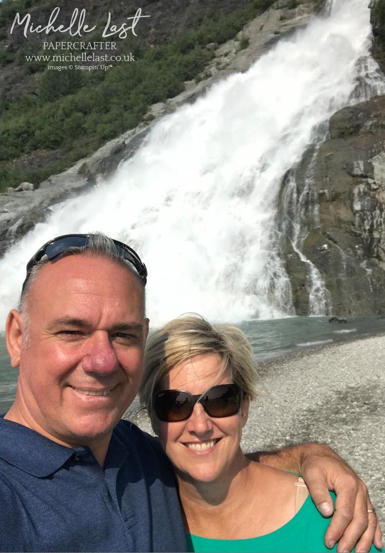 Alaska Waterfall Stampin Up