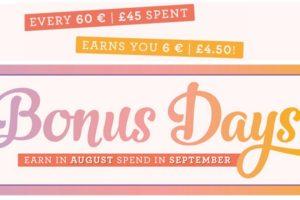 Last chance for Bonus Days coupons