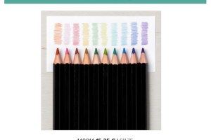 Watercolour Pencils NEW colours available in August only