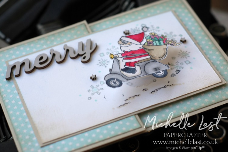 So Santa Handmade Christmas Card