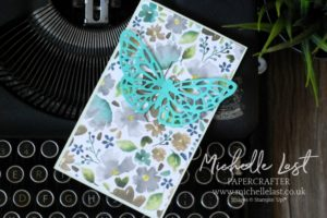 Butterfly Springtime Impressions Card