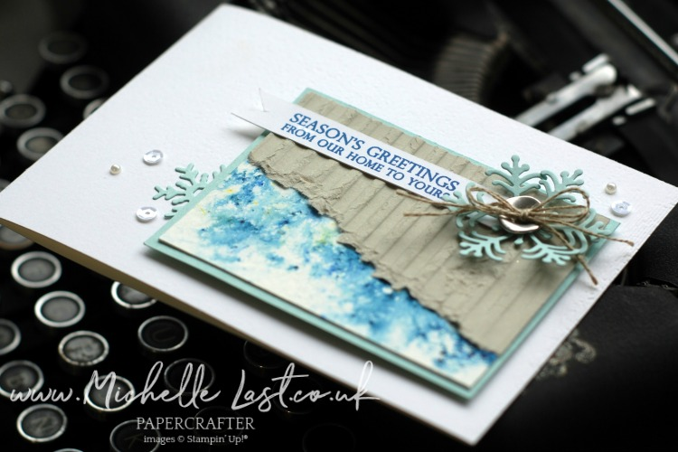Corrugted Embossing Folder from Stampin' Up!