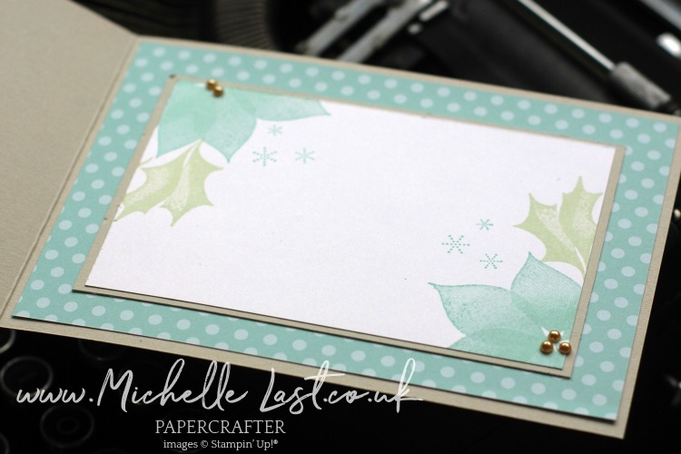 Stylish Christmas Pool Party from Stampin Up