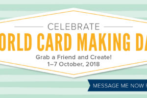 World Card Making Day Discounted Products