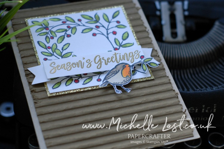 Christmas Robin Card from Stampin Up