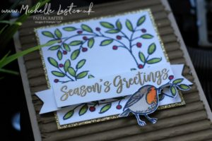 Feathers & Frost from Stampin Up
