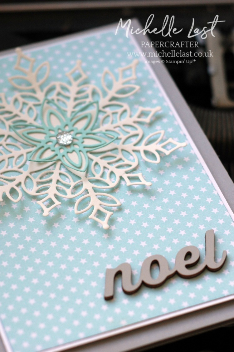 Snowflakes exclusive to Stampin Up