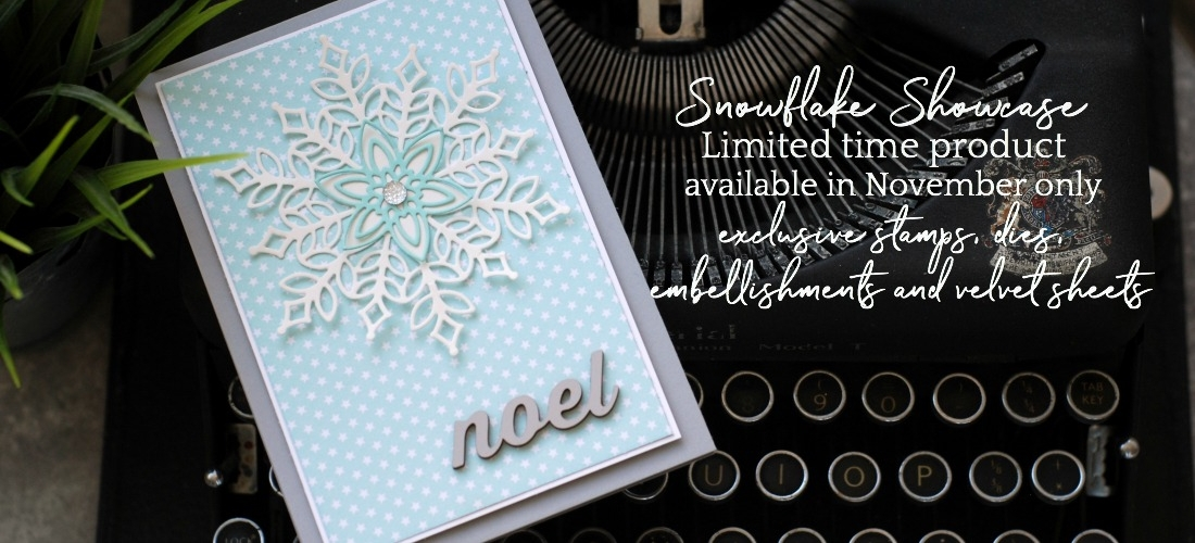 Snowflake Showcase Exclusively available in November