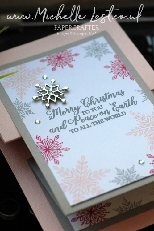Snowflake stamps available from Stampin Up in November only