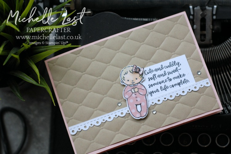 Sweet Baby Stamp Set from Stampin Up