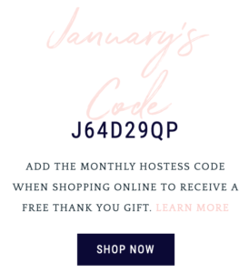 January Hostess Code with Michelle Last