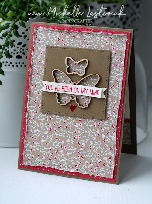 Butterfly Elements free from Stampin Up