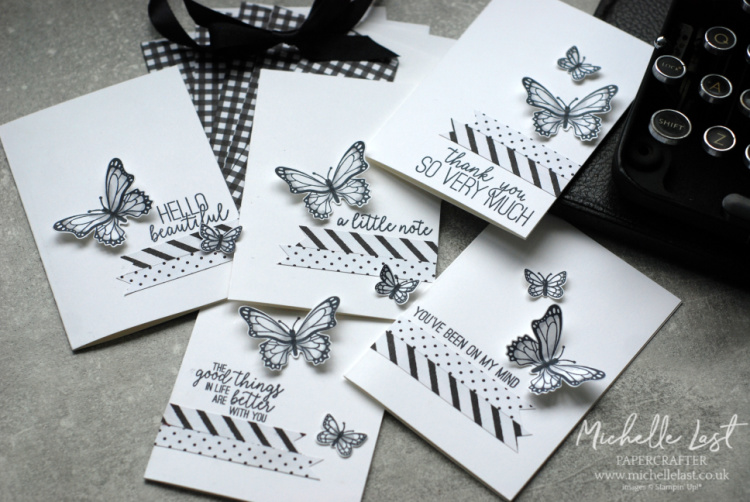 Butterfly Gala bundle available from Stampin Up