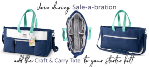 Craft & Carry Tote exclusively available during Saleabration