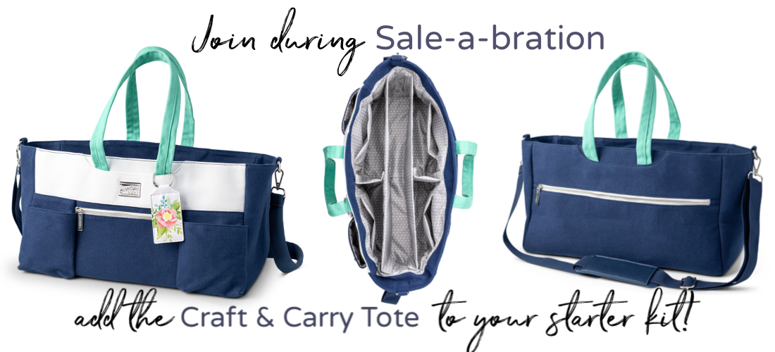 Craft & Carry Tote free during Saleabration