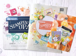 Current Stampin' Up catalogues 2019