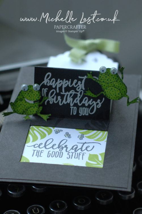 Pop up card using Stampin Up products