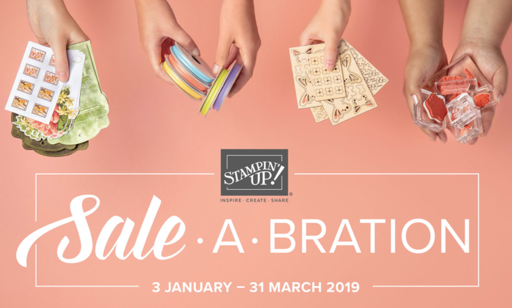 Stampin Up Sale-a-bration 2019