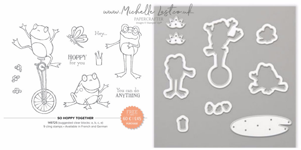 So Hoppy Together Stamp Set and Dies
