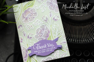 All That You Are Embossed Vellum Card