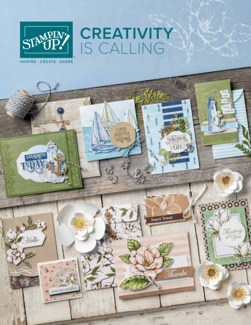 2019 Annual Stampin Up Catalogue