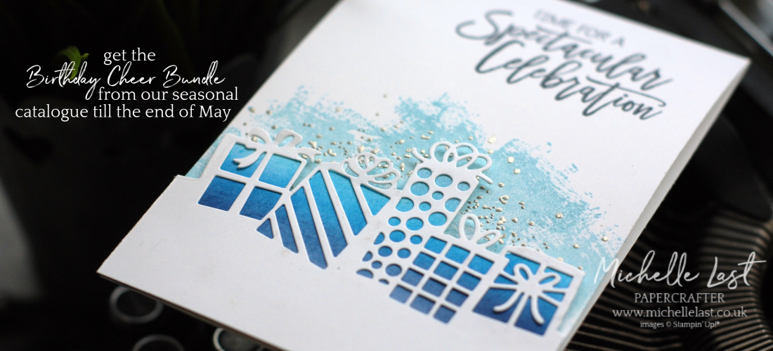 Birthday Cheer Bundle from Stampin Up