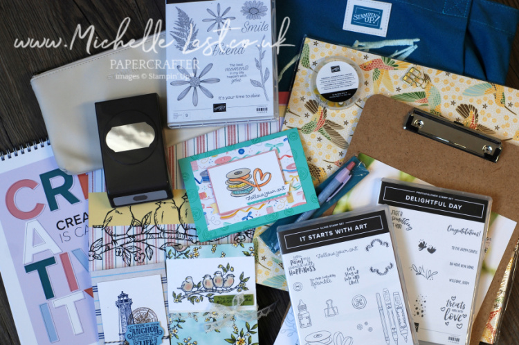 OnStage free Products from Stampin' Up!