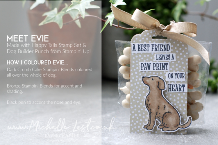 Golden Retriever Dog Stamp & Punch