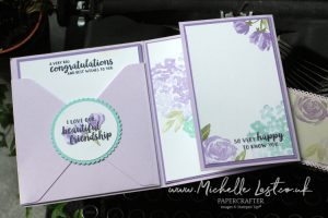 Beautiful Friendship Fold Out Birthday Card