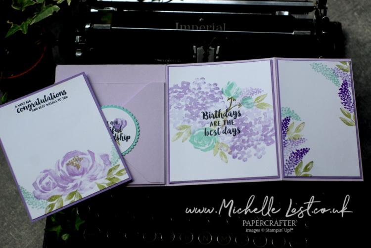 Beautiful Friendship Fold Out Card
